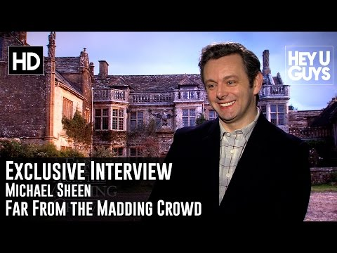 Michael Sheen Exclusive Interview - Far From the Madding Crowd