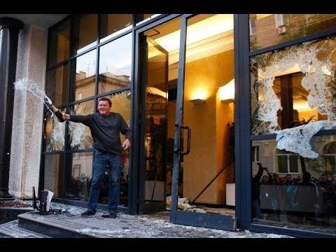 Ukraine crisis: Pro Russian separatists release Western observers in Slaviansk