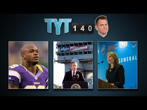 Troops To Liberia, Baghdad Bombing, GM Switches  &  Sperm Donor Death   TYT140 (September 16, 2014)