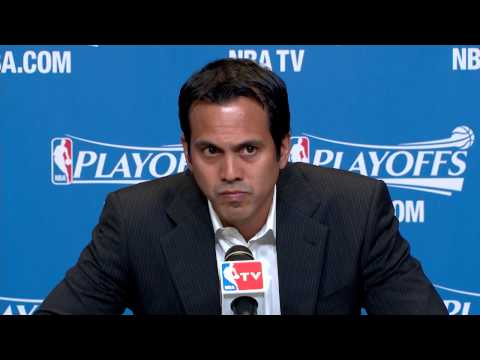 Erik Spoelstra Holds Shortest Pregame Press Conference Ever