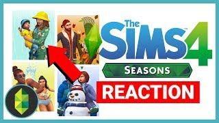 The Sims 4 SEASONS Trailer Reaction!