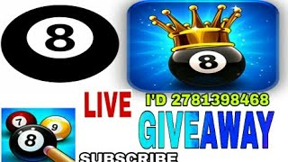 8 BALL POOL LIVE GIVEAWAY OF 1B+ COINS SUBSCRIBE