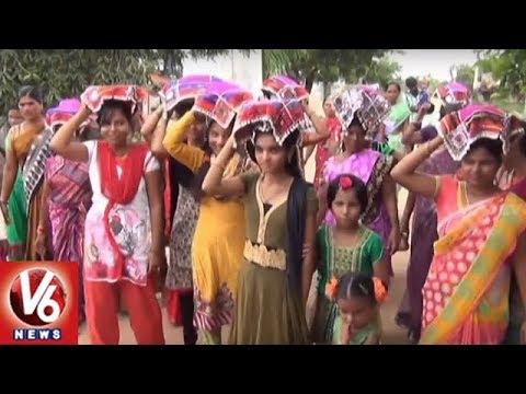 Sheethala Bhavani Festival Commences Grandly In Siddipet District | V6 News