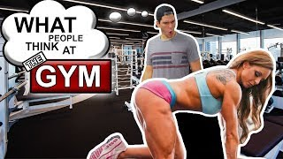 What People Think At The Gym | SweetSpotSquad