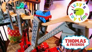 THOMAS TRAIN SPIRAL STAIR CHALLENGE! Thomas and Friends with Brio | Fun Toy Trains for Kids!