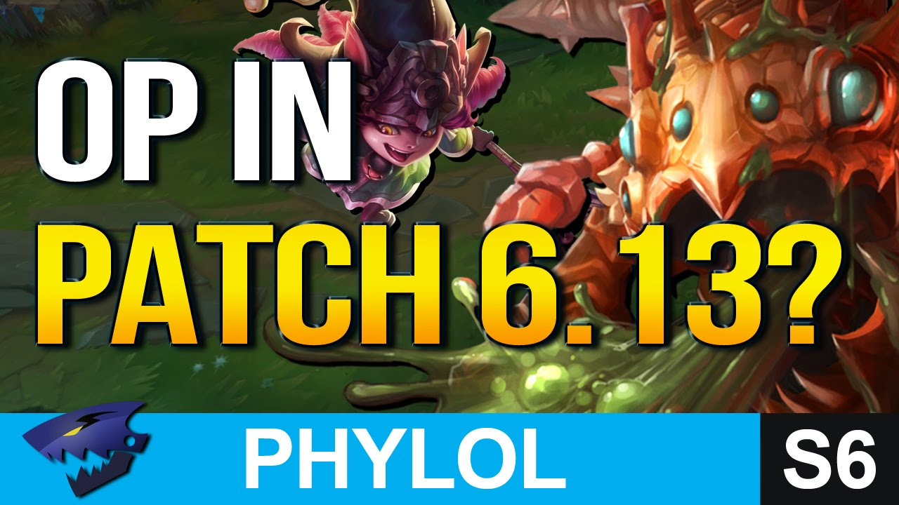 NEW STRONGEST CHAMPS in Patch 6.13 & Who to watch out for (League of Legends)