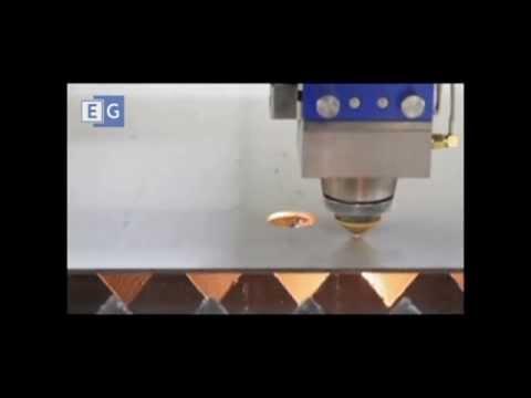 Лазерная резка металла видео