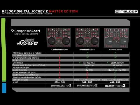 Reloop Digital Jockey 2 - Master Edition