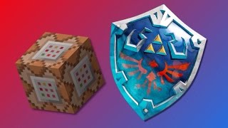 Minecraft One Command Block Creation | Legend Of Zelda