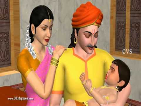 Jo Achyutananda Jo Jo   3d Animation Telugu Rhymes For Children video