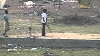 Gully Cricket in Slow Motion