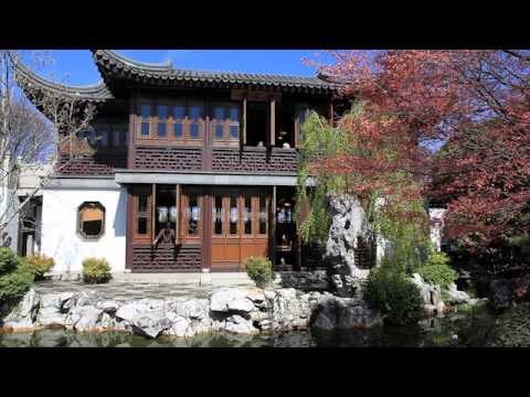 April at Lan Su Chinese Garden