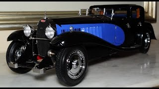 1/18 1930 Bugatti Type 41 Royale Coupe Napoleon black / blue by Bauer - FCaminhaGarage  HD
