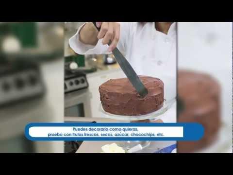 ¿Cómo hacer un pastel de chocolate?