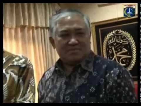 KLARIFIKASI  Prof. Dr. KH. Din Syamsuddin tentang Jokowi