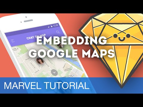 Embedding Google Maps • Prototyping with Marvel (Tutorial)