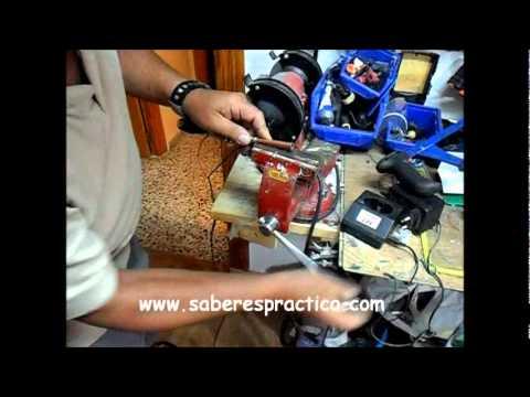 Construcción de un soldador de estaño casero