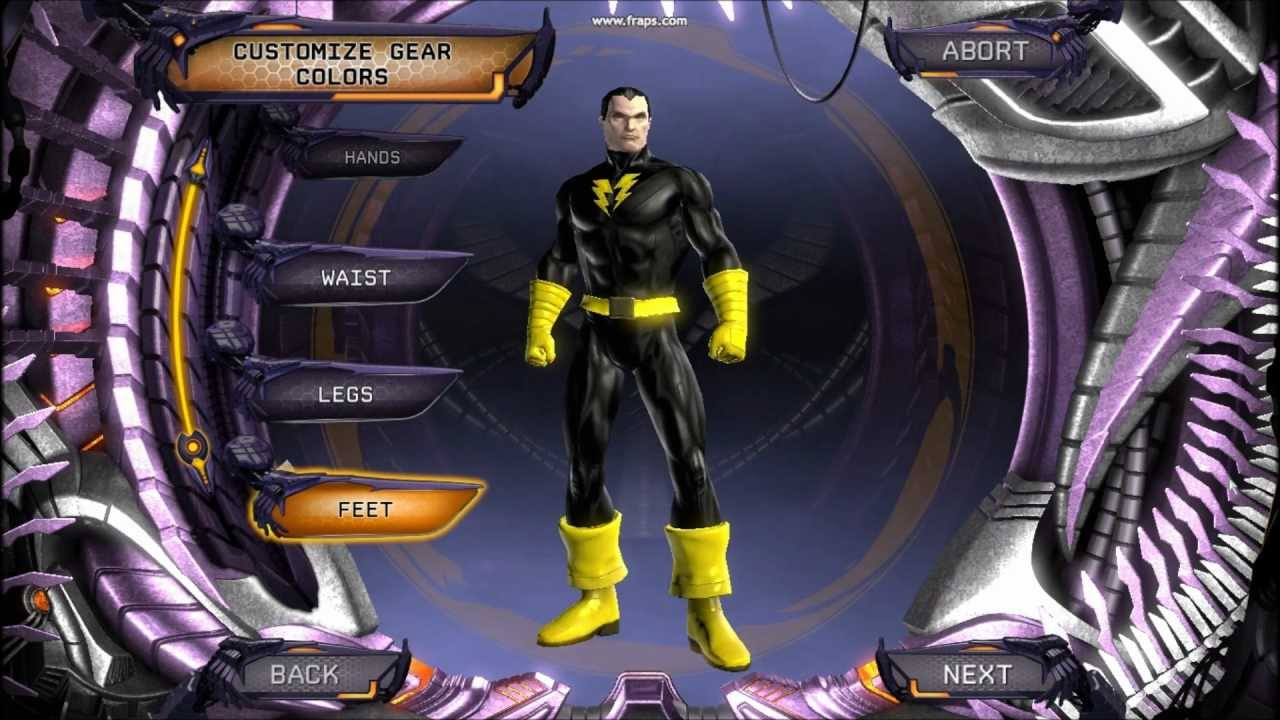Dc Universe Online Black Adam Character Creationhd Youtube