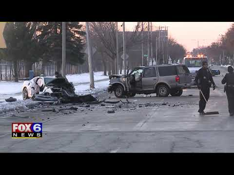 Police: Speed, alcohol believed factors in fatal head-on crash on New Year`s Day; man arrested