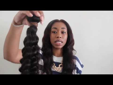 Aliexpress Hair Initial Review/ Unboxing Featuring: Queen Weave Beauty LTD Deep Wave ChimereNicole