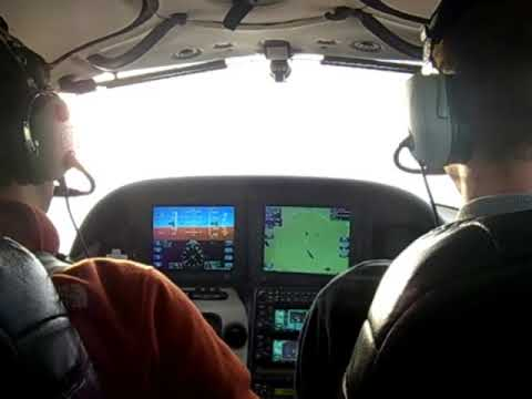 Western Michigan University Flight Lesson with Michael
