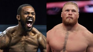 """Brock Lesnar ACCEPTS Jon Jones Challenge to Fight: """"Anytime, Anywhere"""""""