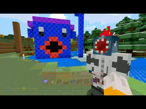 Minecraft Xbox Quest For A Purple Wig 57
