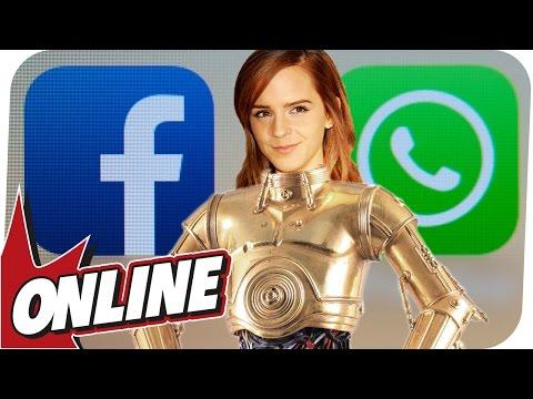 Dein Wunsch-Roboter und WhatsApp-Knopf für Facebook! - WGA ONLINE