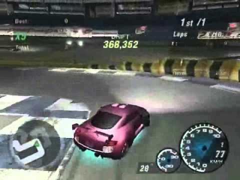 NFS Underground 2 Best World drift score (1Million)