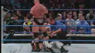 WWE Smackdown  - Brock Lesnar vs Rey Mysterio.3gp
