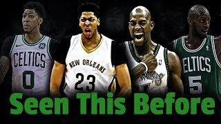 The Similar Careers Of Anthony Davis And Kevin Garnett!