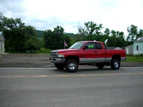 2002 DODGE RAM 2500 4X4 CUMMINS 5 SPEED FOR SALE WWW.NYDIESELS.COM