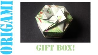 Hexagon Box Lid Ver. 2 (modular 2 Piece): Daily Origami - 459 [tcgames Hd]