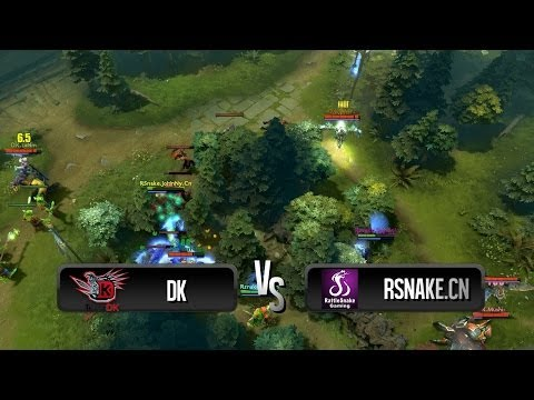 Team fight by DK vs RSnake.CN @ WPC ACE
