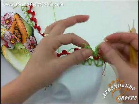 Bico de Croche Bicolor - Aprendendo Crochê