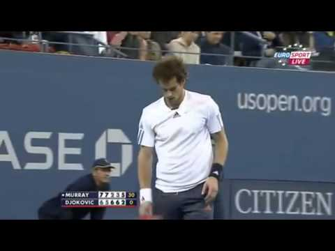 Andy Murray wins US Open 2012 - Major highlights!