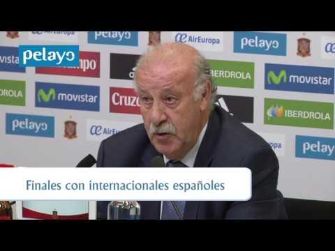 Del Bosque explica la lista para la Eurocopa