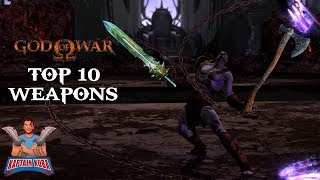 TOP 10 God of War Weapons