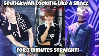 Boo Seungkwan looking like a snacc for 7 minutes straight (Handsome, cute & sexy moments!)