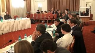 Trei discursuri înflăcărate la un seminar despre reabilitarea victimelor