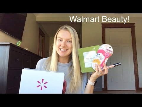 Check out my WALMART BEAUTY box. So good. |FALL 2019|