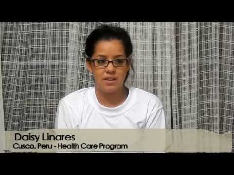 Volunteer Peru Cusco Daisy Linares Health Care Program with Abroaderview.org