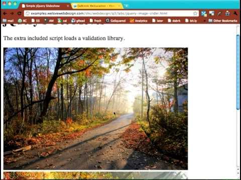 Simple jQuery Slideshow Tutorial