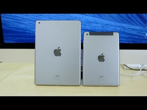 iPad Air vs iPad Mini with Retina Display! (Review)