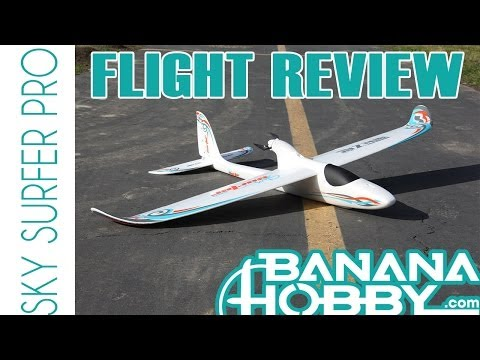 Sky Surfer Pro BlitzRCWorks   Flight Review   Sailplane & Glider