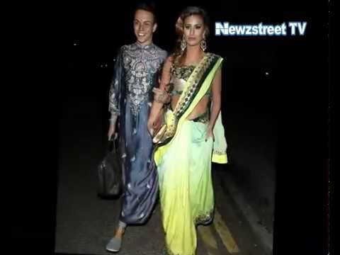 TOWIE's Billie Faiers and Ferne McCann wear saree for Jasmin Walia's Diwali party