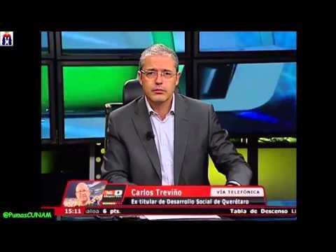 Ronaldinho - Carlos Treviño 'El que actuó como chimpancé fui yo' 9-15-2014