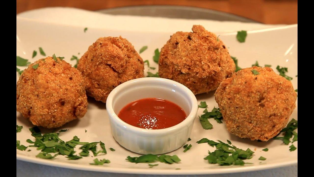 Deep Fried Mac and Cheese Balls Recipe - Slaters 50 50 - Bigmeatsunday ...