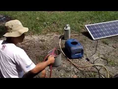 Ecolife - Pompa Air Irigasi Tenaga Surya - Cara kerja dan Pemasangan