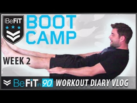 BeFit In 90 Workout Diary With Chris Thompson: Week 2 - BeFit Bootcamp